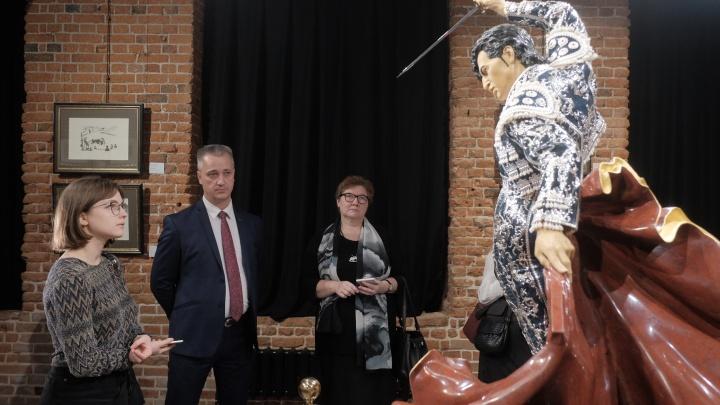 В Екатеринбурге открылась выставка про корриду с работами Пикассо, Гойи и скульптурой за 5 млн долларов