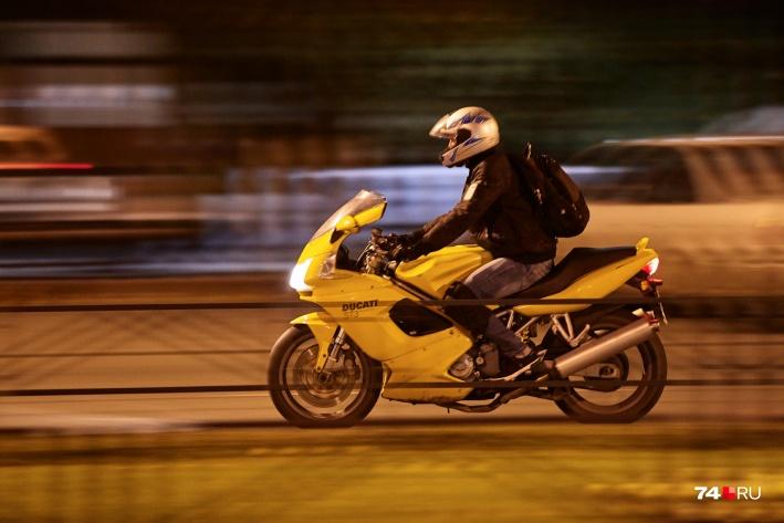 Мотоцикл заставил Павла двигаться дальше