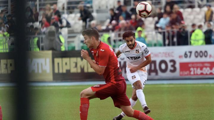 «Урал» с разгромным счётом проиграл прямому конкуренту за место в Премьер-лиге