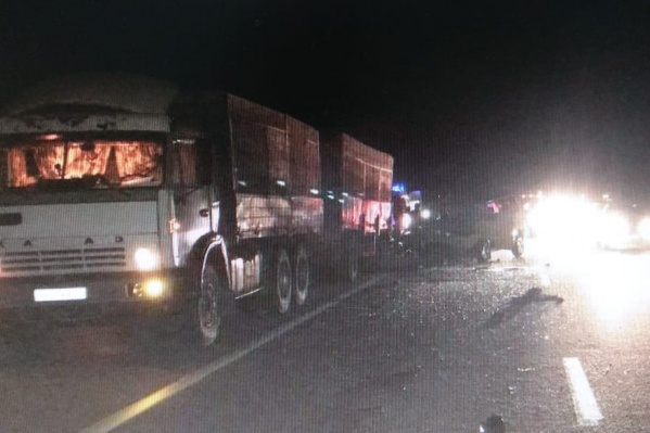 В аварии погибли шесть человек