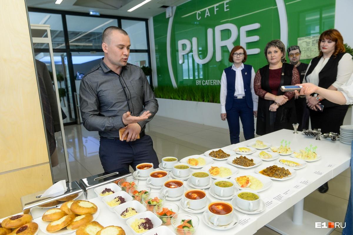 Журналистам дали попробовать и оценить качество блюд, которые дают школьникам — на наш вкус, получилось весьма неплохо