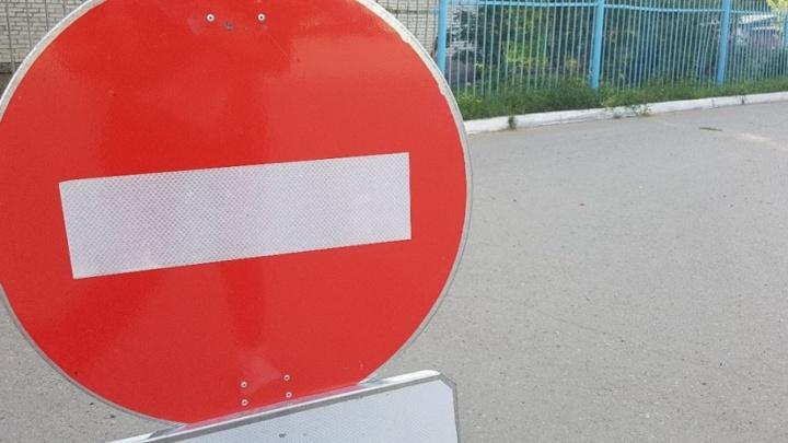 Карта перекрытий: в День города в Кургане ограничат движение транспорта