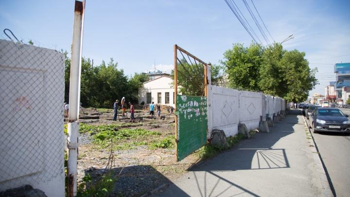 Археологи начали раскопки на месте будущего офисного центра в Челябинске