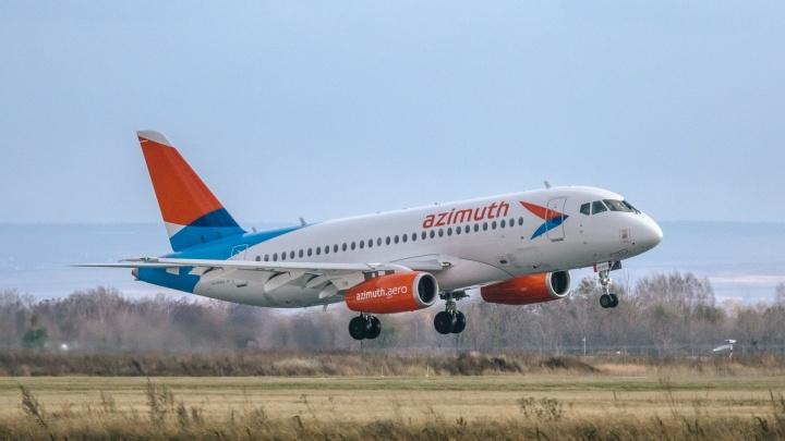 Опять сломался! В Самаре экстренно сел самолет Sukhoi Superjet 100