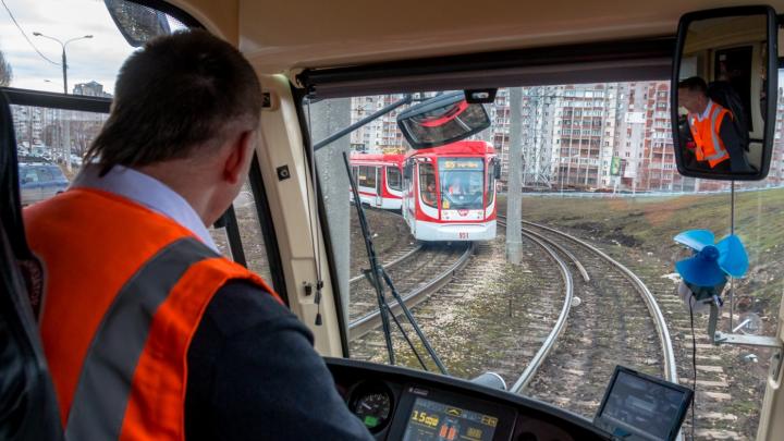 В Самаре открыли движение трамваев по Ташкентской