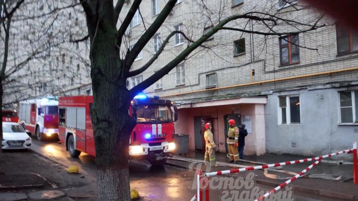 В пожаре на Ларина погибла ростовчанка