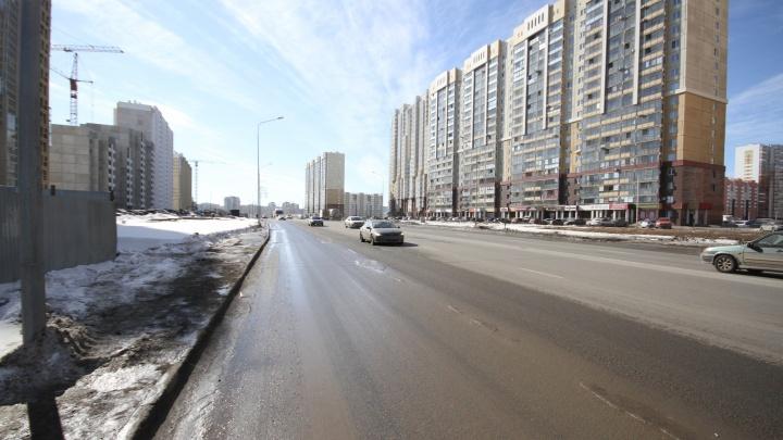 «Академ» бежит? Все бегут: дорога в новом микрорайоне превратилась в смертельно опасный аттракцион