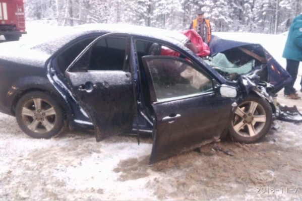 Водитель скончался сразу после аварии