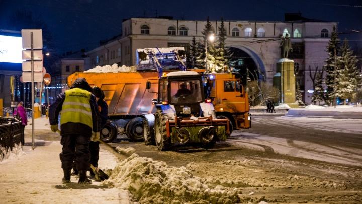 Будем плавить снег и следить за уборкой онлайн: придумали, как нормально убирать город зимой