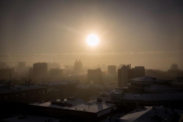 Новосибирск скрывается за смогом уже несколько недель