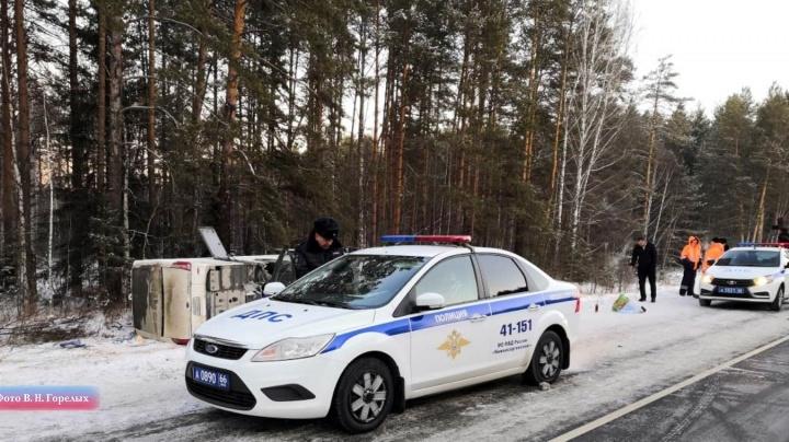 Водитель автобуса уснул за рулем? После ДТП на трассе Пермь — Екатеринбург возбудили уголовное дело