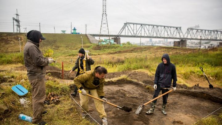 Черепа под мостом: на месте строительства четвёртого моста найдены кости и кирпичи