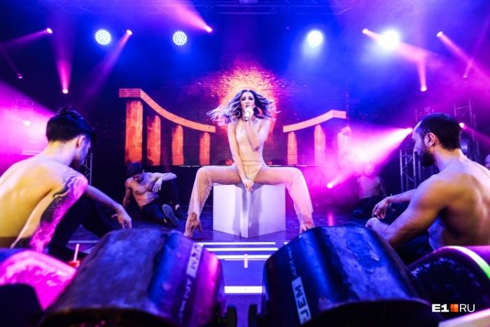 Ольга Бузова уже не первый раз выступает в Екатеринбурге