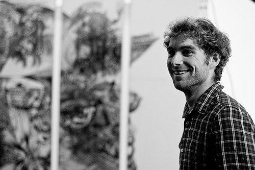 Антуана Мартине называютИеронимом Босхом уличного искусства