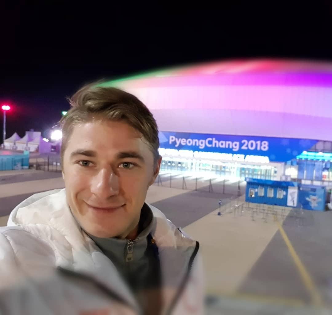 Алексей Рогов в 2018 году выступил на Олимпийских играх в Пхёнчхане