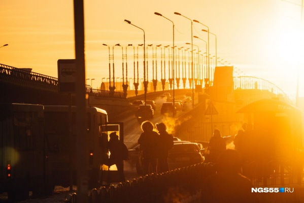 Омские компании участвовали в торгах, среди которых был аукцион на охрану мостового перехода через Иртыш