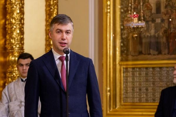 Алексей Логвиненко в своей поздравительной речи сказал о ценностях жителей Ростова