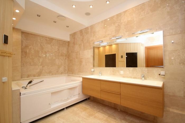 Сила света: как организовать освещение в ванной