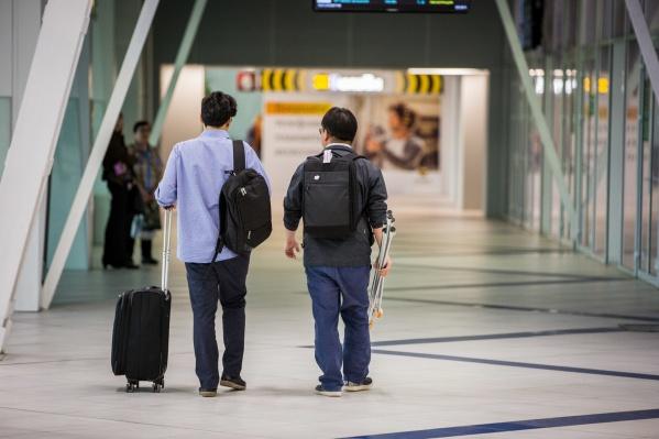 Молодые спортсмены вернулись домойбез багажа