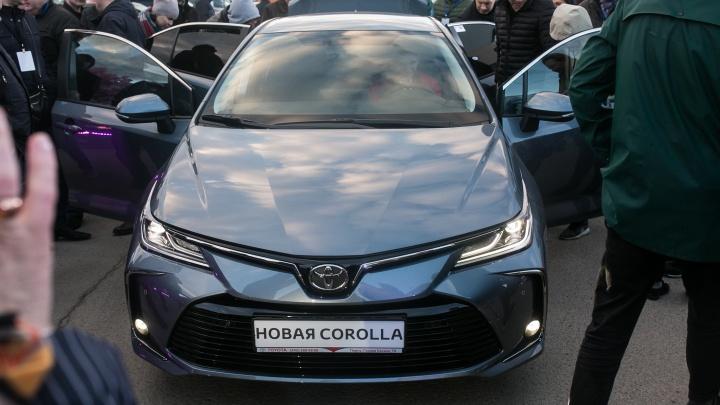 Новую Toyota Corolla официально презентовали в Перми