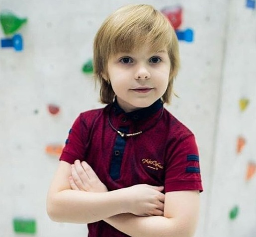 7-летний Марк Видяев после победы в областном этапе конкурса поедет в Москву