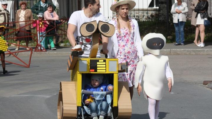 Архангельские семьи пройдут парадом по набережной