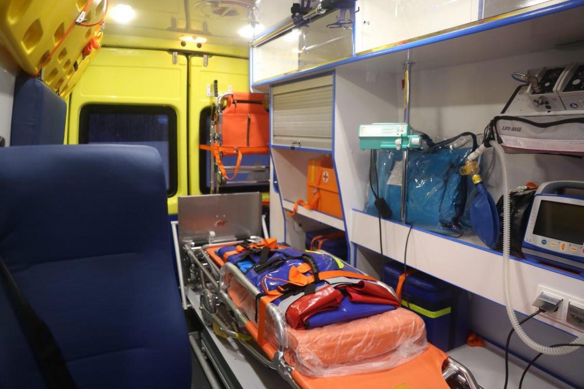 Больницам Новосибирской области приобрели новые машины на53 млн руб.
