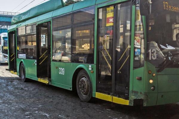 Конфликт между кондуктором троллейбуса и пассажирами произошёл около 20:00 во вторник, 13 ноября