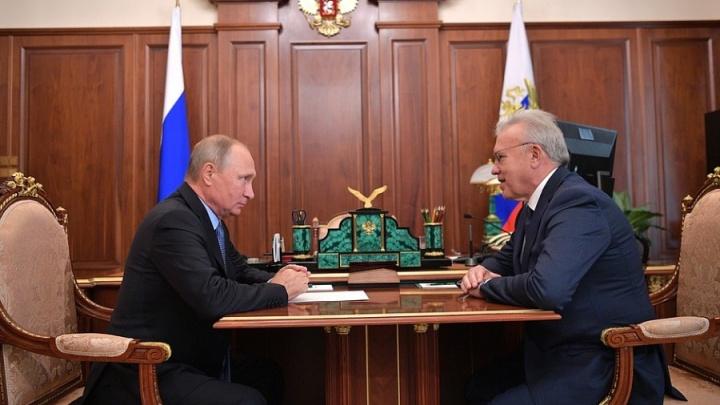 Названа дата приезда Владимира Путина в Красноярск
