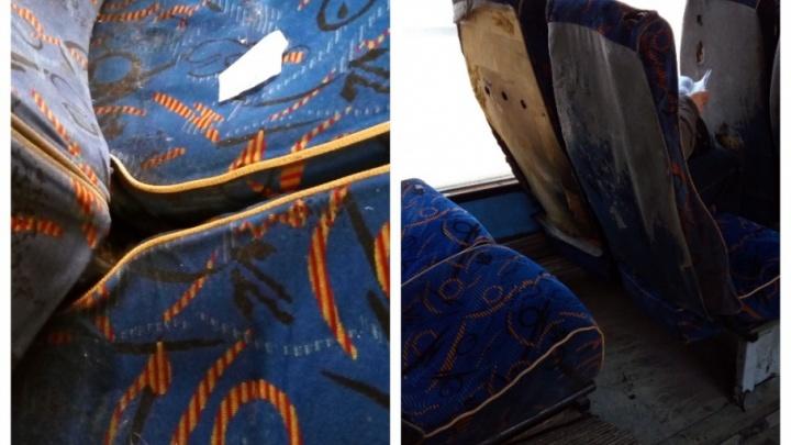 Уфимец пожаловался на грязь в городских автобусах