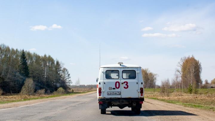 В Ярославском районе автобус с пассажирами вылетел в кювет: есть пострадавшие
