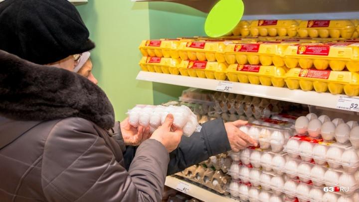 В Тольятти задержали фуру с огромной партией опасных яиц