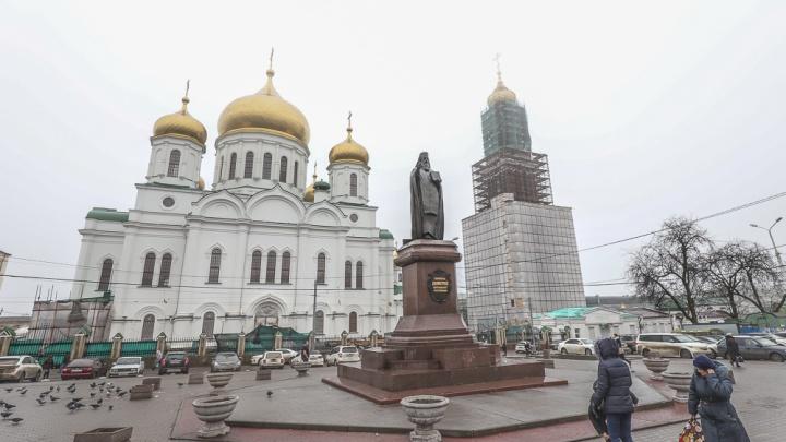 В Ростове-на-Дону благоустроят Соборную площадь