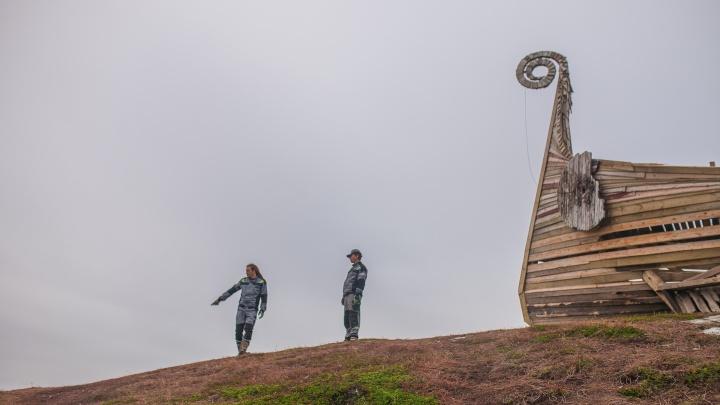 Спасают мох у Левиафана и учат пить иван-чай: делегация из Поморья покоряет север Норвегии