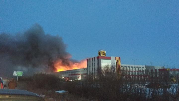 «Началось с цеха покраски»: под Челябинском сгорела котельная компрессорного завода