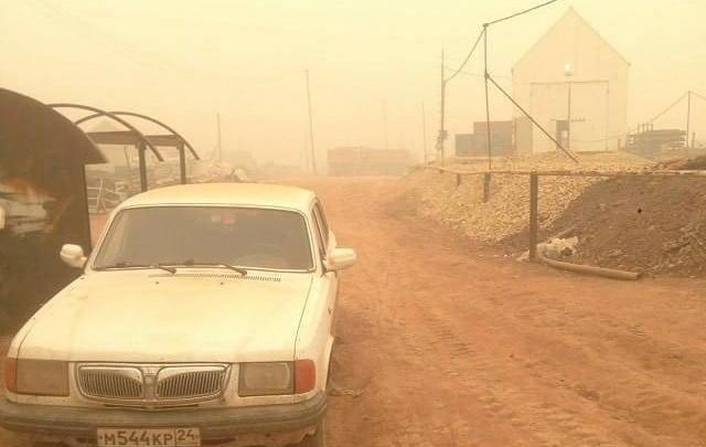 В воздухе села Ванавара нашли 7-кратное превышение едкой пыли из-за пожаров