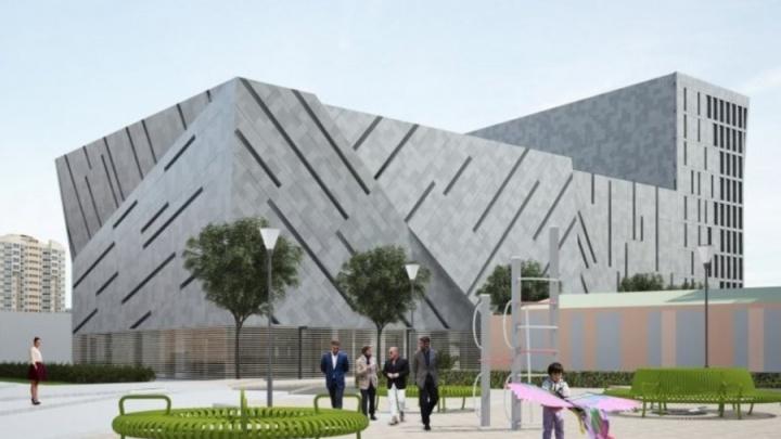 Девятиэтажную волейбольную академию Карполя в Екатеринбурге построят к 2020 году