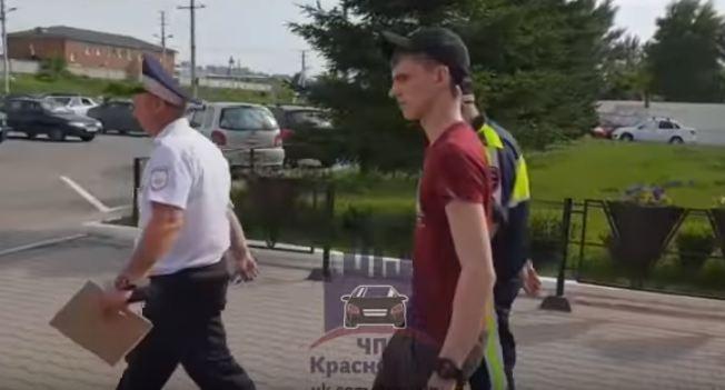Переиграл в GTA: суд арестовалводителя квадроцикла за гонки с ГИБДД по центру Красноярска