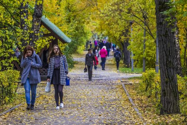 Первая декада октября, согласно прогнозу, может оказаться теплее климатической нормы на 1–2 градуса