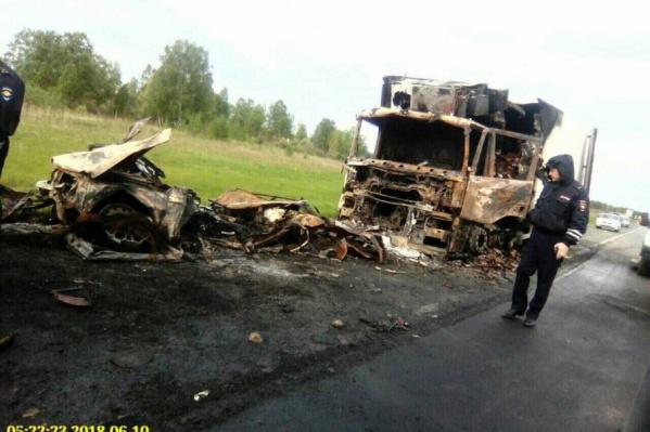 Массовое ДТП случилось под Тобольском 9 июня