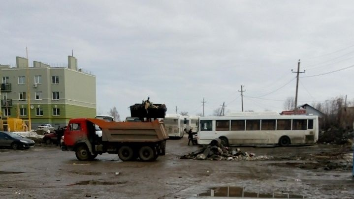 «Самара Авто Газ» навел порядок в Красноглинском районе