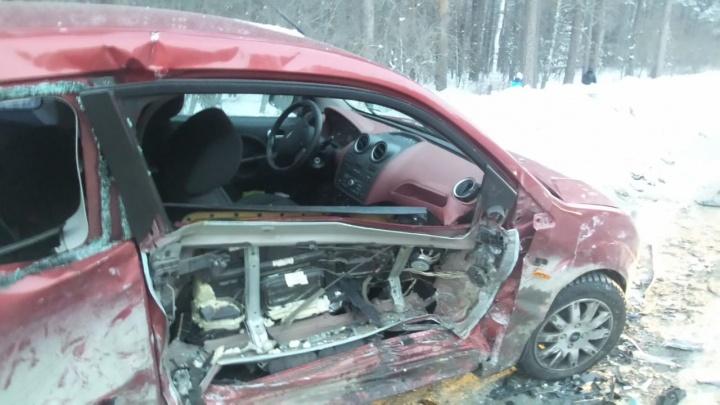 На Амундсена разбились три иномарки: с места ДТП в больницу увезли ребёнка