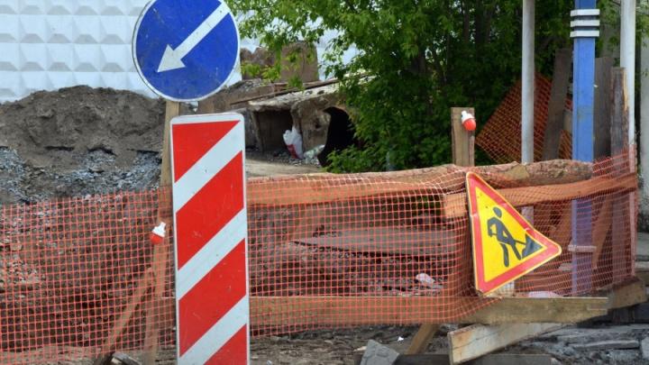 На Эльмаше закроют движение по двум улицам из-за ремонта теплосетей