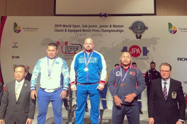 Чемпионат мира по пауэрлифтингу проходит в эти дни в Японии
