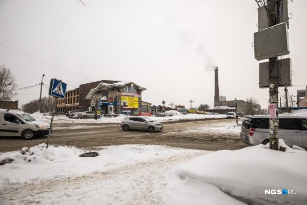 Пересечение улиц Добролюбова и Зыряновской