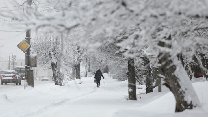 Доставайте лопаты: челябинский циклон накроет снегом юг Свердловской области и затронет Екатеринбург