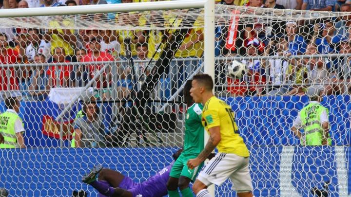 В Самаре сборная Колумбии вырвала победу у команды Сенегала —1:0