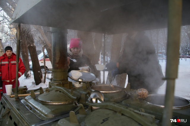 День в Магнитогорске оказался очень морозным