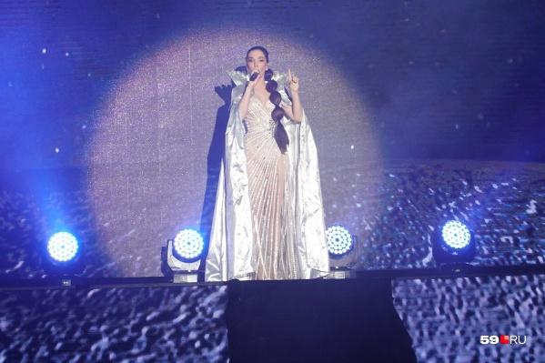 Актриса впервые в Перми