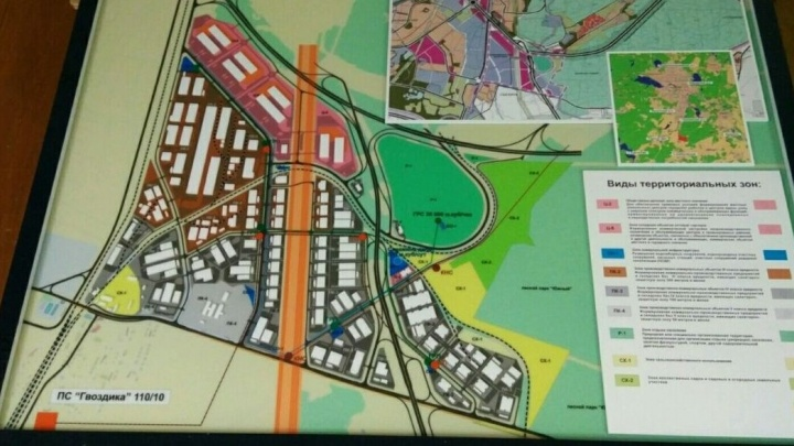 Ради промышленного парка и нового района перепроектируют съезды с третьей очереди ЕКАД